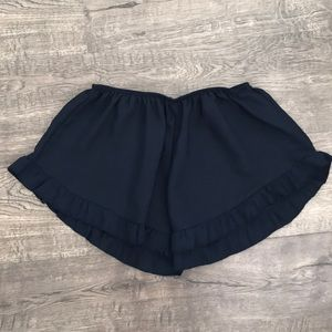 Navy Brandy Melville Flowy shorts